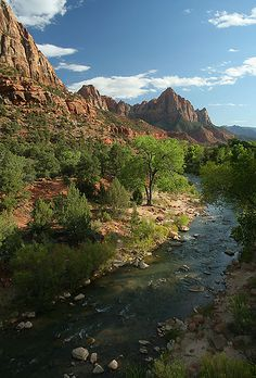 Zion National Park, Utah.  Photo: Helena Normark, via Flickr