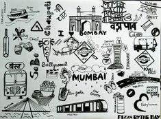 mumbai doodle