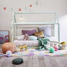 48 DIY Decorating Ideas for a Little Girl's Room - DIY Projects for Making Money - Big DIY Ideas