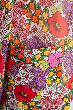 60s multi Floral Patterns, Textile Patterns, Vintage Patterns, Vintage Prints, Print Patterns, Floral Prints, Vintage Floral Fabric, Retro Fabric, Retro Pattern