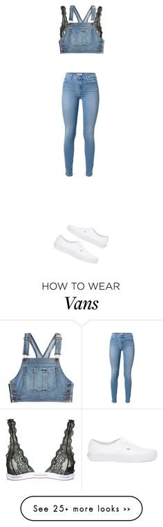 """""""Untitled #1670"""" by yourmajestyjordine on Polyvore featuring mode, Dsquared2, Moschino, 7 For All Mankind en Vans"""