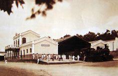 """Garanhuns (PE) - A """"Gret Western"""" fazia a ligação entre várias cidades do nordeste do Brasil. A Estação Ferroviária de Garanhuns, situada a 270 km do Recife, foi inaugurada em 1887 e fazia parte da estrada de ferro do Recife ao São Francisco. Em 1901 foi integrada à rede Sul da Great Western."""