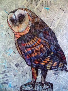Owl by HoweverUnlikely on Etsy, $490.00