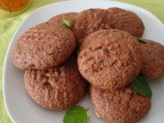 Bolachas Chocolate e menta vegan not guilty pleasure