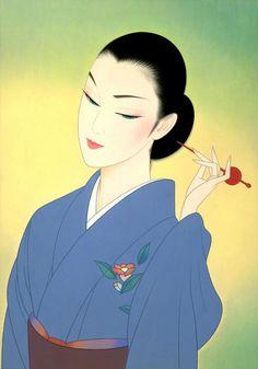 Ichiro Tsuruta https://www.pinterest.com/itsasourdaibai/illustrators-of-oriental/