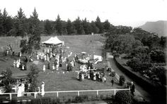 Fete at Lilianfels, Katoomba 1917