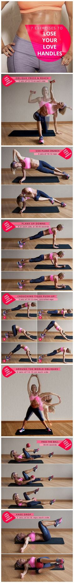 How To Lose Love Handles?; Exercises and Diet Plan To Lose Excess Fat
