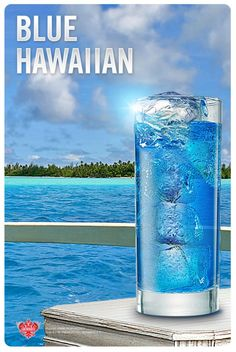 Set sail with a Blue Hawaiian:1 fl oz SMIRNOFF® Orange Flavored Vodka, 1 fl oz Blue Curacao, 2 fl oz Orange Juice, 1 fl oz Pineapple Juice ,1 slice(s) Orange  Fill glass with ice. Add SMIRNOFF® Orange Vodka, blue curacao, orange juice, and pineapple juice. Stir well. Garnish with orange slice.