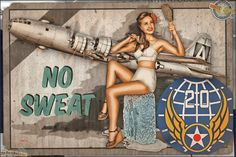 Today's airbrushed style pinup photo features Samantha in another of the ongoing WW2 Nose Art Pinup series! Calling on the classic Vargas style pinup that would often adorn nose of Fighters/Bombers or the backs of bomber jackets during World War 2. This particular WW2 Pinup Art represents the 20th Air Force with Samantha and the mighty Boeing B-29 Superfortress. © Dietz Dolls: http://www.dietzdolls.com || Facebook: https://www.facebook.com/MomentsCapture