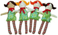 pure play kids handmade dolls