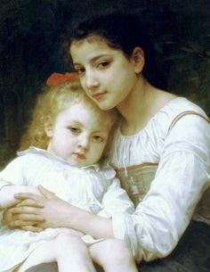 by William Adolphe Bouguereau  - click to enlarge