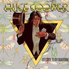 """Free piano sheet music Escape by Alice Cooper. """"Escape"""" is the last track from Alice Cooper's 1975 album, Welcome to My Nightmare. The song is written by Alice Cooper, Mark Anthony and K Greatest Album Covers, Rock Album Covers, Classic Album Covers, Music Album Covers, Music Albums, Alice Cooper, Cover Art, Lp Cover, Vincent Price"""