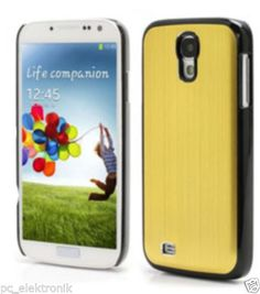 Galaxy S4 Metall Backcover Gold - Samsung i9500 SIV