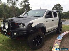 Toyota Hilux  3.0 D4X4 dual Cab Ute 2011 AUTO #toyota #hilux #forsale #australia
