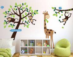 baby girls room is safari!