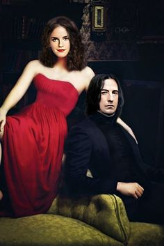 Snamione : Souls by OpalChalice on DeviantArt Snape And Hermione, Hermione Granger, Alan Rickman Severus Snape, Boys Don't Cry, The Empress, User Profile, Outlander, Hogwarts, Strapless Dress