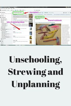 Unschooling, Strewing and Unplanning | Stories of an Unschooling Family