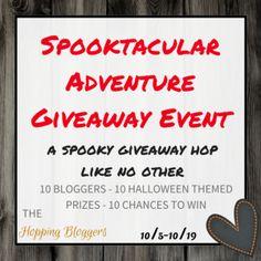 Spooktacular Adventure Giveaway Hop!   #SpooktacularHop