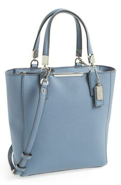 COACH 'Madison' Saffiano Leather Tote available at #Nordstrom