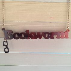 My latest name necklace from Tatty Devine