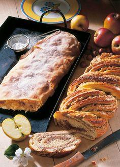 Nusszopf und Apfelstrudel - find German recipes in English @ www.mybestgermanrecipes.com