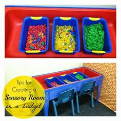 Tips for Creating a Sensory Room on a Budget
