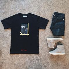 WEBSTA @ ldn2hk - Tee. Jeans. Shoes. #outfitgrid @outfitgrid @dennistodisco…