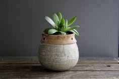vintage pottery planter. $22.00, via Etsy.