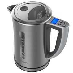VAVA Electric Kettle Temperature Control Water Kettle Stainless Steel Cordless Tea Kettle with LCD Display BPAFree Build Keep Warm Function Strix Control FDA Certified 1.7Liter *** Click on the image for additional details.-It is an affiliate link to Amazon. #WaterHeater