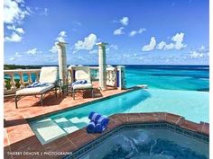 Gorgeous view from Anguilla villa. Next vacation destination!
