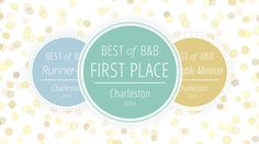 Best of B&B Charleston 2014: Wedding Venues on Borrowed & Blue.