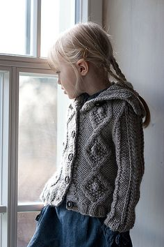 Manti Cardigan By Eveli Kaur - Purchased Knitted Pattern - (ravelry)