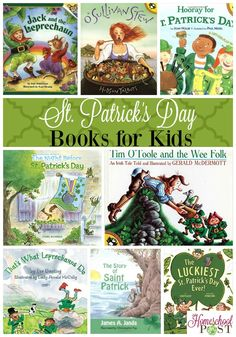 Don't miss these great St. Patrick's Day books for kids. Have fun and learn with your kids while creating a love for reading.