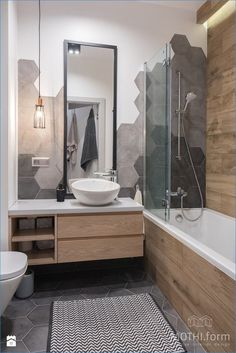 Gray bathroom decor white bathroom decor neutral bathroom decor in concert with blue and gray bathroom Grey Bathrooms Designs, Modern Bathroom Design, Bathroom Interior Design, Interior Livingroom, Kitchen Interior, Interior Decorating, White Bathroom Decor, Small Bathroom, Neutral Bathroom