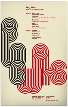 Poster influenced by bauhaus characteristics such as the the constantly joined typeface and the colour Palette.