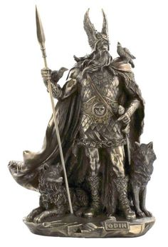 Odin (Old Norse - Óðinn) is a major god in Norse mythology, the Allfather of the gods, and the ruler of Asgard. Description from pinterest.com. I searched for this on bing.com/images