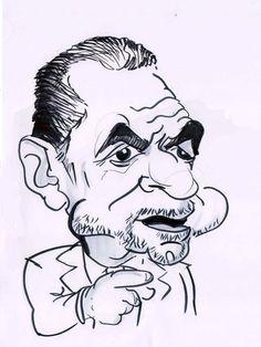 Caricature of Alan Sugar