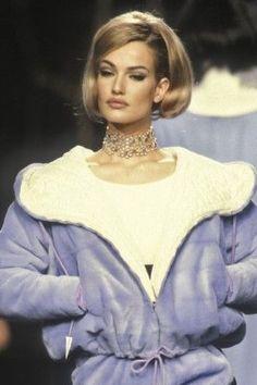 Karen Mulder - Lanvin, Autumn-Winter 1991, Couture