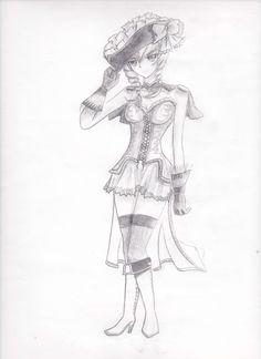 La chica pirata! - Hecho en Diciembre del 2013 D: