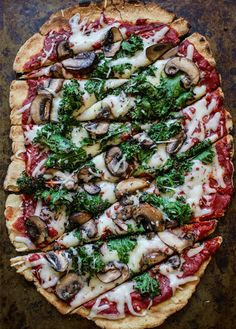 This pizza is totally gluten-free.