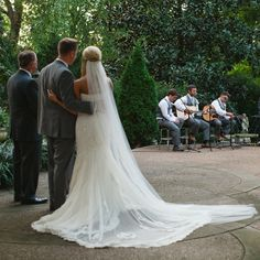 The guys singing at Chad's and Fallon's wedding :)