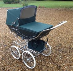 Silver Cross Kensington Pram - British Racing Green Stroller |