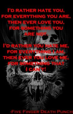 Never Enough- Five Finger Death Punch