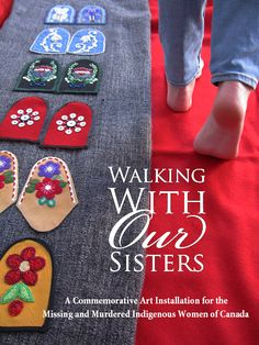 Walking With Our Sisters is a commemorative art installation to honour the lives of the missing and murdered Indigenous sisters. Over 700 people have committed to making a pair of moccasin 'vamps' ('uppers') for this art installation Aboriginal Man, Aboriginal Culture, Aboriginal People, Good Morning Sister Images, Art Nouveau, Art Gallery, Beaded Moccasins, Dress Plus Size, Native American Beadwork