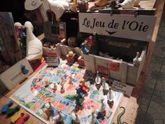 """"""" LE JEU DE L'OIE """".......SARLAT LA CANEDA.......SOURCE BING IMAGES........."""
