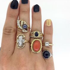 Bold gemstones for bold babes
