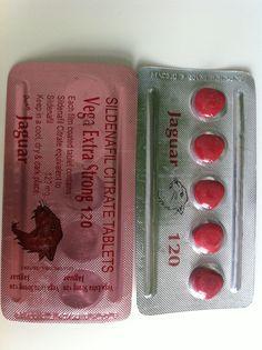 Jaguar 120mg extra strong ist ein Potenzmittel von dem pharmariesen vega.