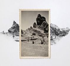 custom vintage photo drawings by lauren king