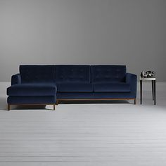 Buy Furia Odyssey LHF Chaise End Sofa Online at johnlewis.com
