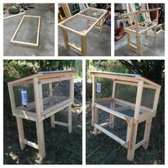Having rabbits as a pet is quite easy, since they take very little to eat and can groom themselves. If you ever think of raising rabbits; then you'll need to take a look at these DIY rabbit hutch plans & ideas, as your very first start. Rabbit Hutch Plans, Outdoor Rabbit Hutch, Rabbit Hutches, Rabbit Cages Outdoor, Indoor Rabbit, Diy Bunny Cage, Bunny Cages, Diy Bunny Hutch, Rabbit Cage Diy